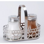 Stainless Salt and Pepper Sets KH-208E