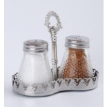 Salt and Pepper Sets with Chromeplated Plastic Handle KH-211A