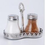 Stainless Salt and Pepper Shakers KH-211E