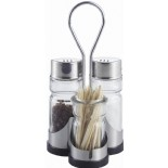 Salt,Pepper Shaker & Toothpick Holder Shaker KH-310